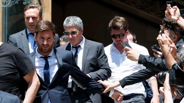 Lionel Messi, Jorge Horacio Messi, Rodrigo Messi