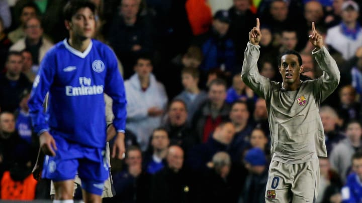 Ronaldinho Chelsea Barcelona