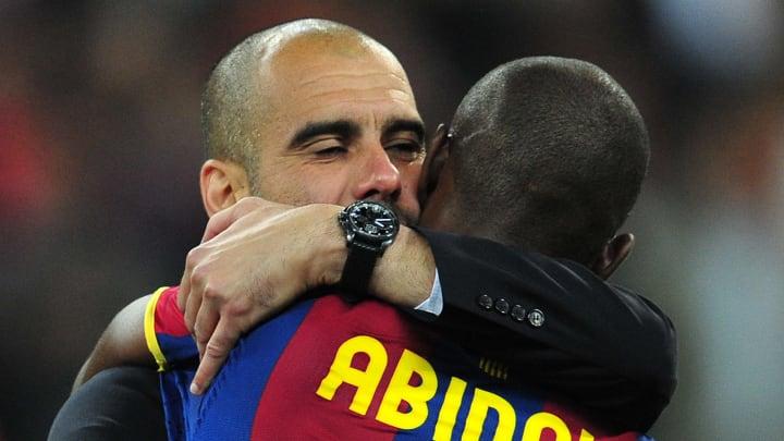 Barcelona's Spanish coach Josep Guardiol