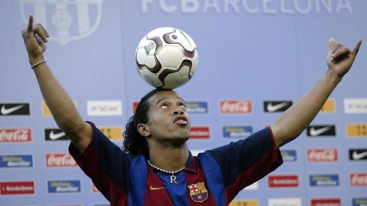 Barcelona's new Brazilian soccer star Ro