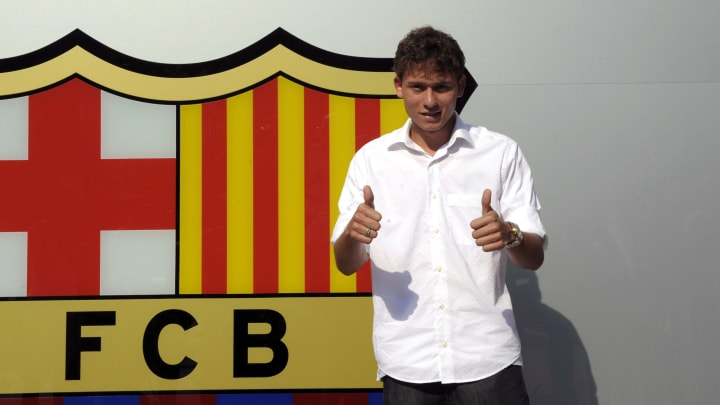 Barcelona's new signing Brazilian Keirri