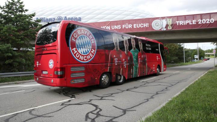 Der FC Bayern hat einen neuen Mannschaftsbus