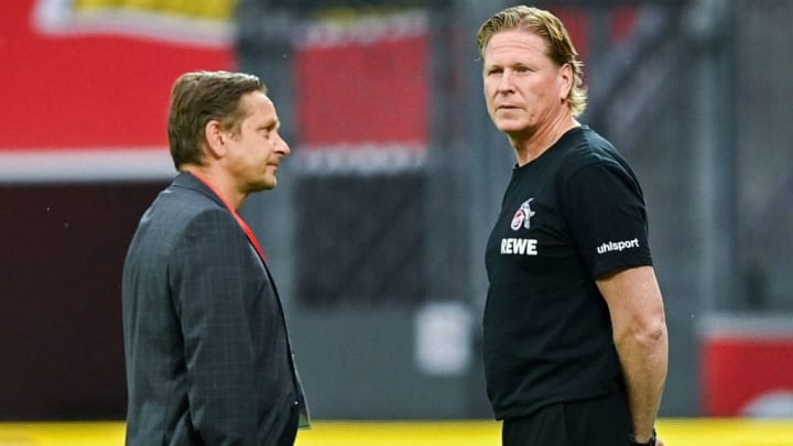 Horst Heldt und Markus Gisdol stehen vor einer harten Saison