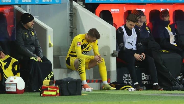 Marco Reus nach seiner Auswechslung (88. Minute)
