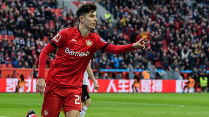 Bayer Leverkusen's Kai Havertz