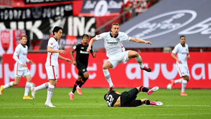 Bayer Leverkusen empfängt Eintracht Frankfurt zum Topspiel der Bundesliga.