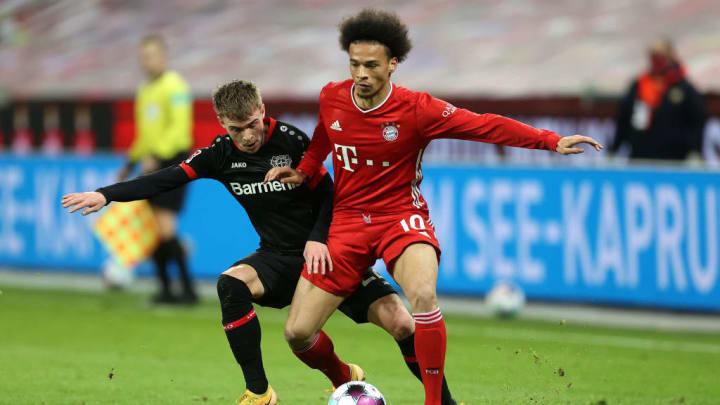 Leroy Sané ist noch nicht beim FC Bayern angekommen