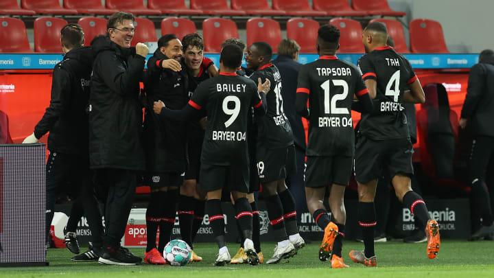 Bayer Leverkusen hat eine sehr gute Hinrunde absolviert