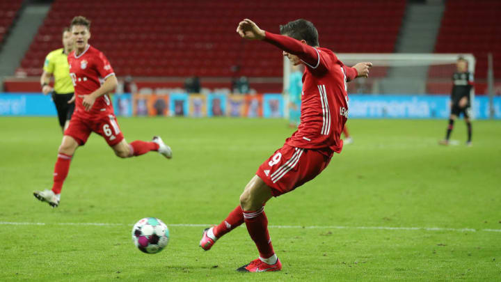 Lewandowski versucht sich am häufigsten im Abschluss