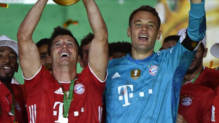 Manuel Neuer, Robert Lewandowski