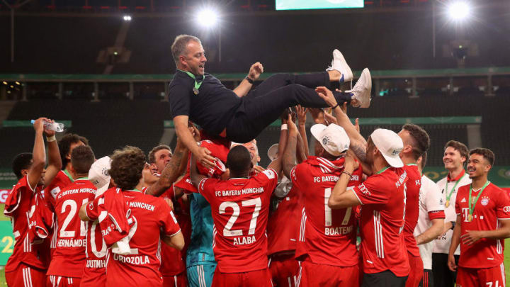 The harmony brought to the Bayern dressing room has been a feature of Flick's tenure