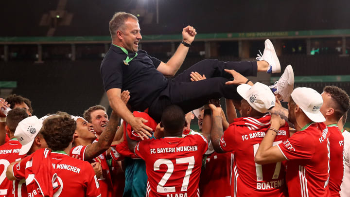 Hansi Flick has led his side to another Bundesliga title