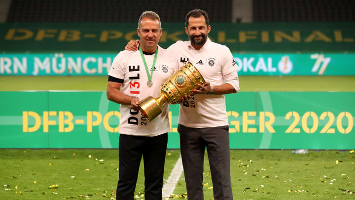 Gemeinsam haben Hansi Flick und Hasan Salihamidzic Großes verbracht. Allerdings dürften sich die Wege bald trennen.