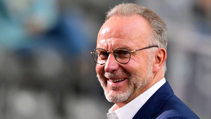 Laut Karl-Heinz Rummenigge ist der FC Bayern der beste Fußballverein der Welt