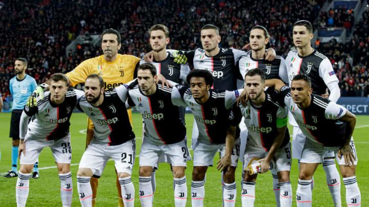 Adrien Rabiot, Cristiano Ronaldo, Daniele Rugani, Danilo