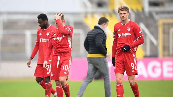 Bitter für den ganzen Verein: Die Bayern Amateure sind abgestiegen.