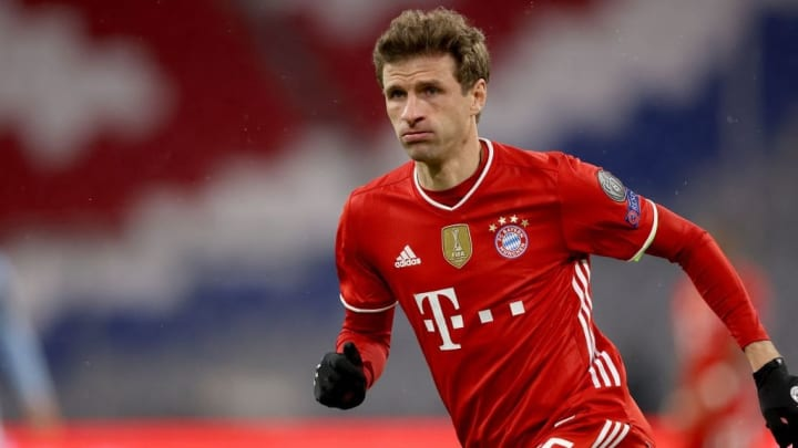 Thomas Müller Bayern PSG Champions League