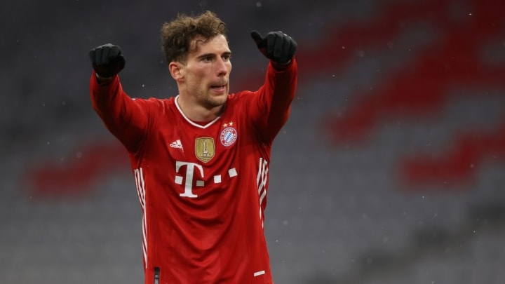 Leon Goretzka Bayern de Munique PSG Champions League