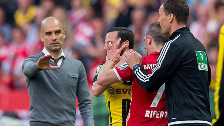 Franck Ribery, Gonzalo Castro - German Soccer Midfielder