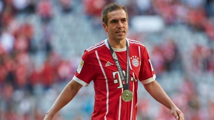 Lahm con el Bayern Munich