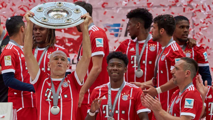 Bayern lost only twice during the 2016/17 Bundesliga season