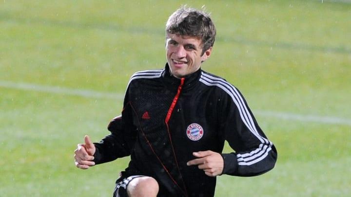 Bayern Munich midfielder Thomas Muller a