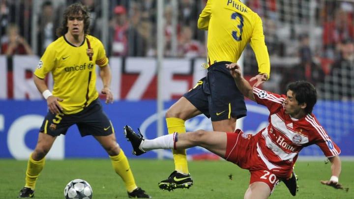 Bayern Munich's Argentinian midfielder J