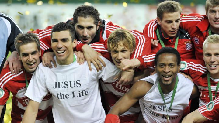 Bayern Munich's Brazilian defender Lucio
