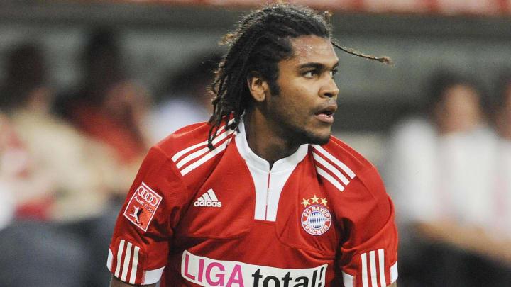 Bayern Munich's Brazilian midfielder Bre