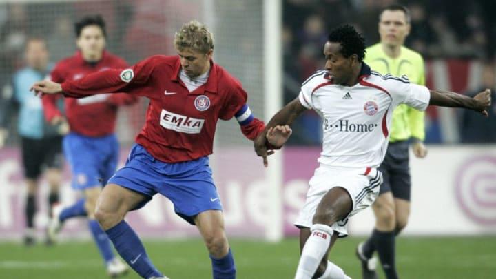 Der WSV musste sich 2008 im DFB-Pokal-Achtelfinale dem FC Bayern mit 2:5 geschlagen geben