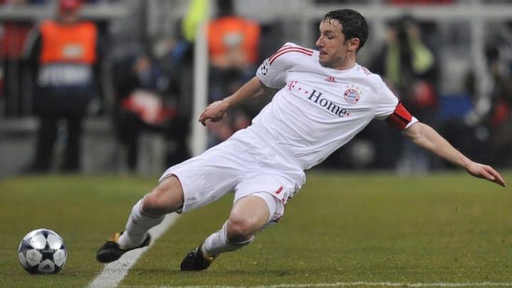 Bayern Munich's Dutch midfielder Mark va