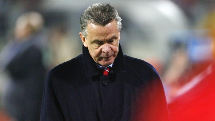 Bayern Munich's new coach Ottmar Hitzfel...