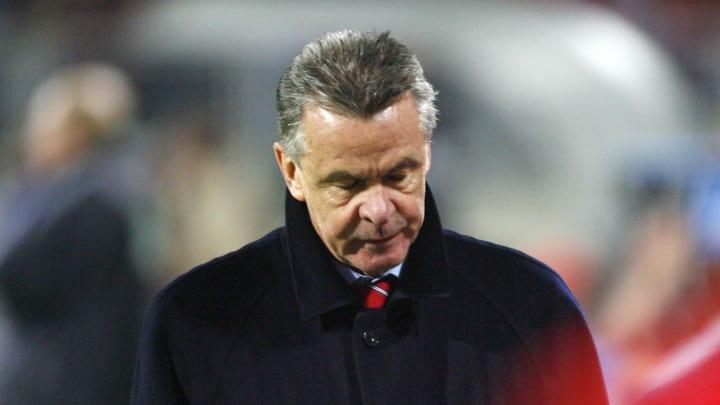 War nach dem Pokal-Aus maßlos enttäuscht: Ottmar Hitzfeld