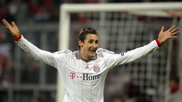 Bayern Munich's striker Miroslav Klose c