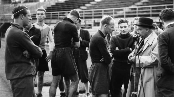 Matthias Sindelar se negó a jugar para el Tercer Reich