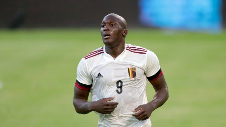 Romelu Lukaku con la maglia del Belgio