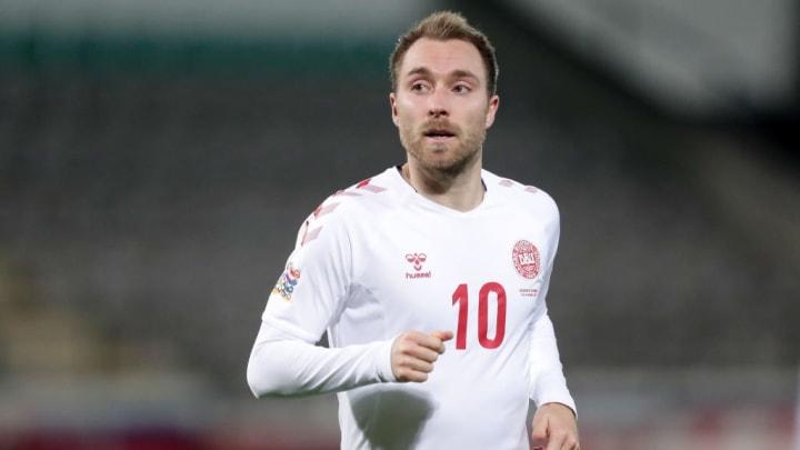 Christian Eriksen Dinamarca