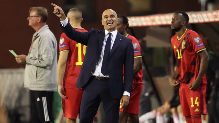 Barcelona have contacted Roberto Martinez