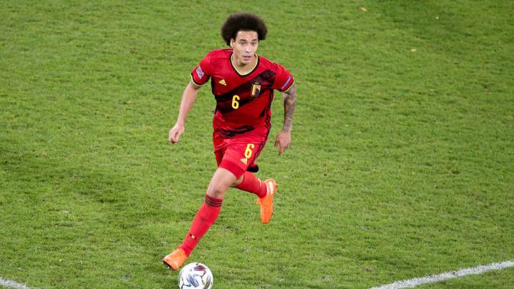 Axel Witsel Bélgica Seleção Belga Liga das Nações Eurocopa Euro 2021