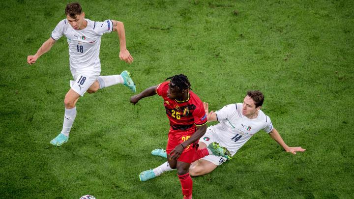 Jérémy Doku war im EM-Viertelfinale gegen Italien häufig zu schnell für seine Gegenspieler.