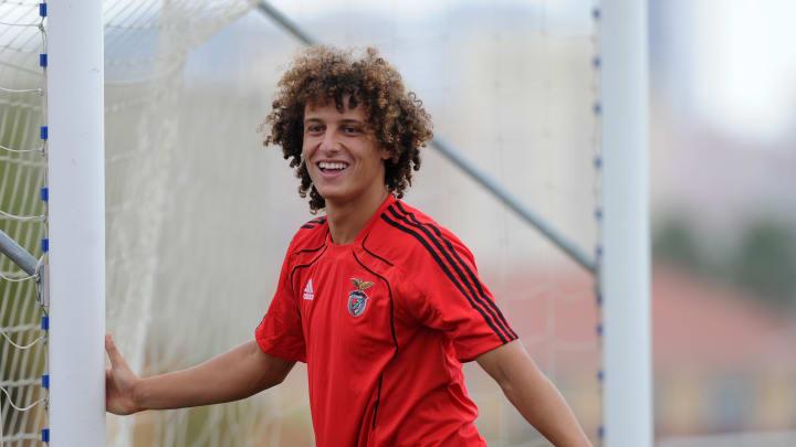 Benfica's Brazilian defender David Luiz