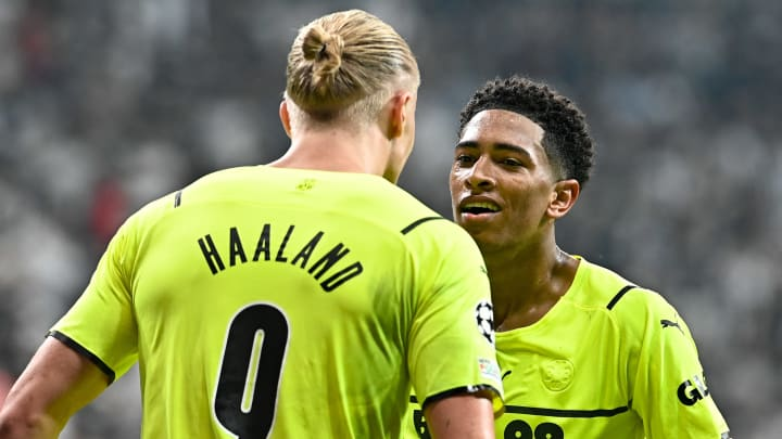 Jude Bellingham scored and assisted for Dortmund in the Champions League this week