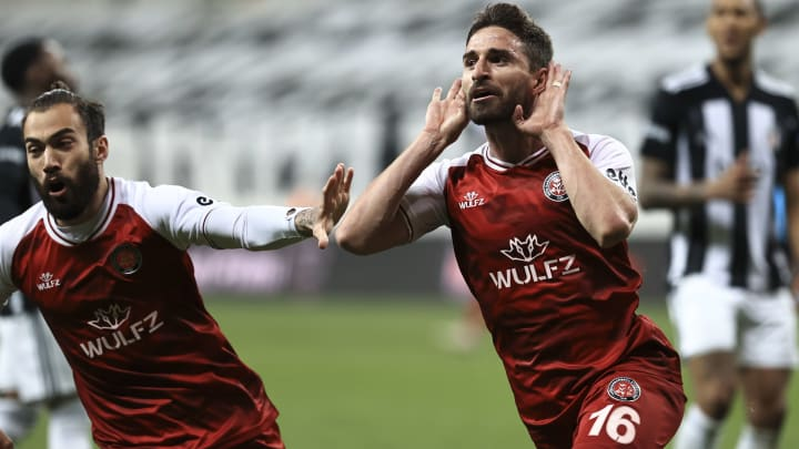 Fabio Borini'nin gol sevinci