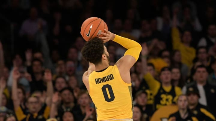 NEW YORK, NY - MARCH 15:  Markus Howard #0 of the Marquette Golden Eagles shoots the ball against the Seton Hall Pirates in the semifinals of the Big East Basketball Tournament at Madison Square Garden on March 15, 2019 in New York City. (Photo by Porter Binks/Getty Images)