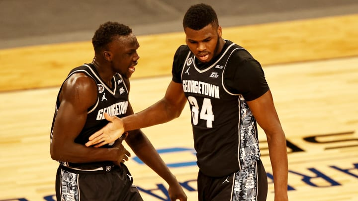 Georgetown vs Seton Hall prediction and college basketball pick straight up and ATS for today's NCAA game between GTWN vs HALL.