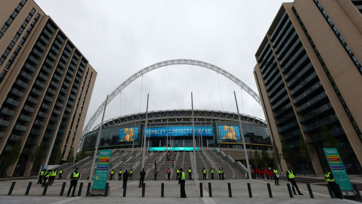 Wembley could host 'full-size crowds' at Euros as part of new COVID trials