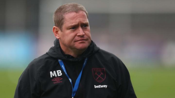 Matt Beard has left his position as West Ham manager