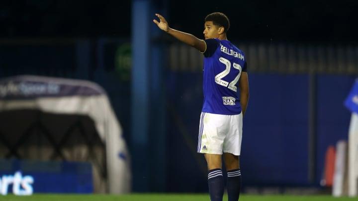 Bellingham bei seinem emotionalen letzten Auftritt für Birmingham City