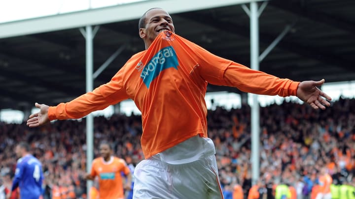 DJ Campbell was part of an exciting Blackpool side who failed to beat the drop