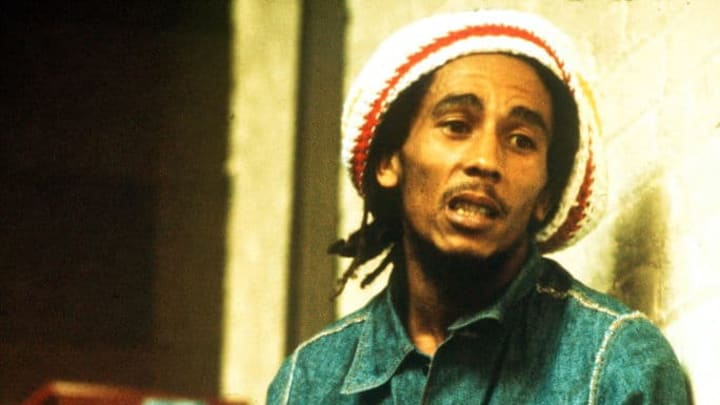 Bob Marley At Island Records
